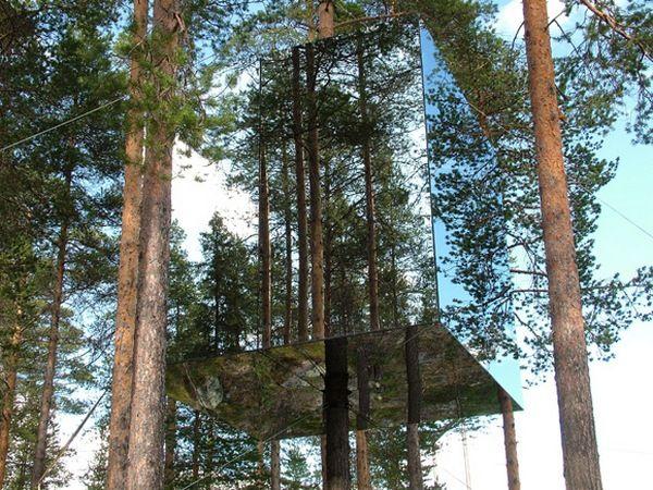 Tree Hotel Sweden Mirrorcube