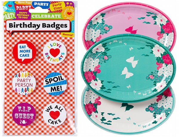 lark plates badges talking tables