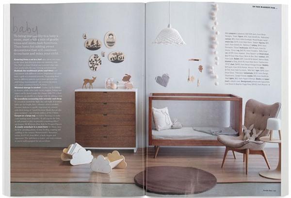 InsideOut magazine ubabub Go Home Junior bookcase