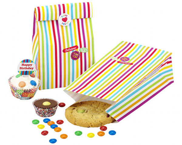 lark talking tables party ware treat bags