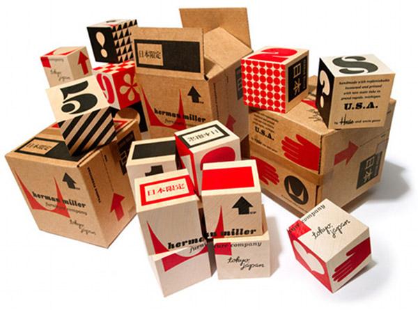 house industries herman miller japan eames girard blocks play collectable
