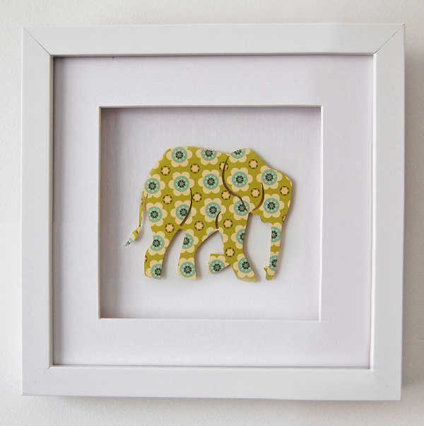 Hugs and Inspiration elephant print