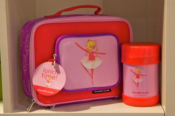 ballerina ballet lunch box bag