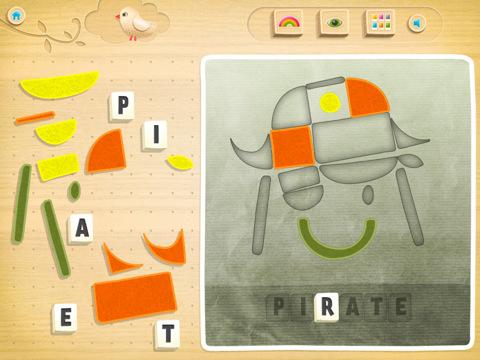 Shape-O! app iPad