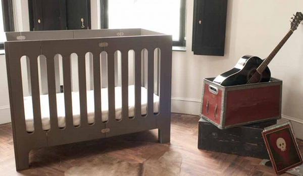 furniture crib foldable