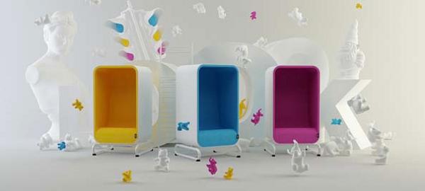 Box Sofa from LoOok Industries