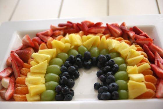 rainbow party food