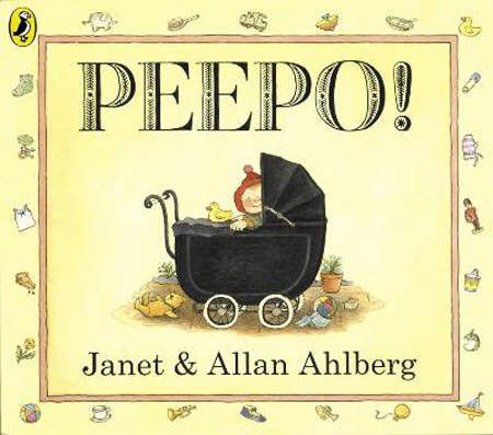 Janet and Allan Ahlberg peek-a-boo