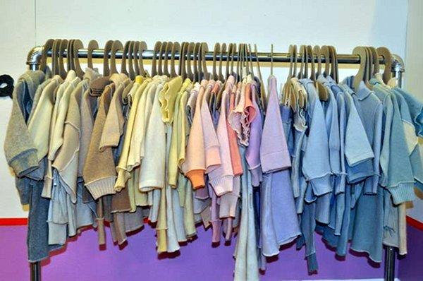 upcycled cashmere