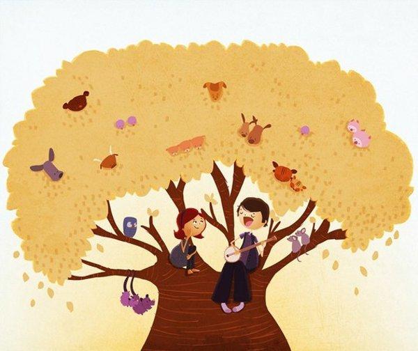 Nidhi Chanani art - Tree Songs