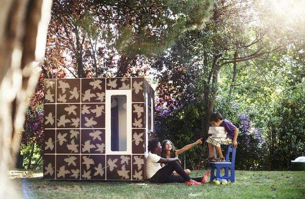 Modern cubbies casaforum 1 SmartPlayhouse – architecture on a cubby scale