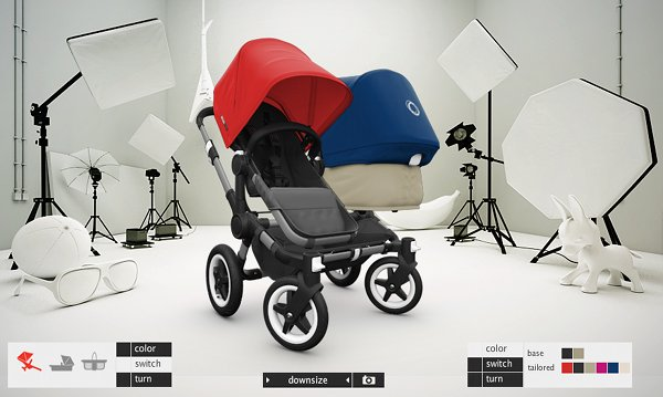 bugaboo donkey build3 Just spotted – build a Bugaboo Donkey!