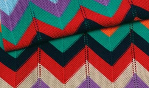 missoni knit blanket