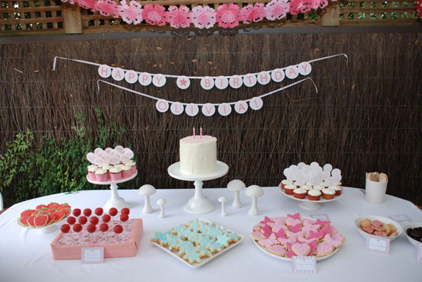 fairy ballerina themed birthday party