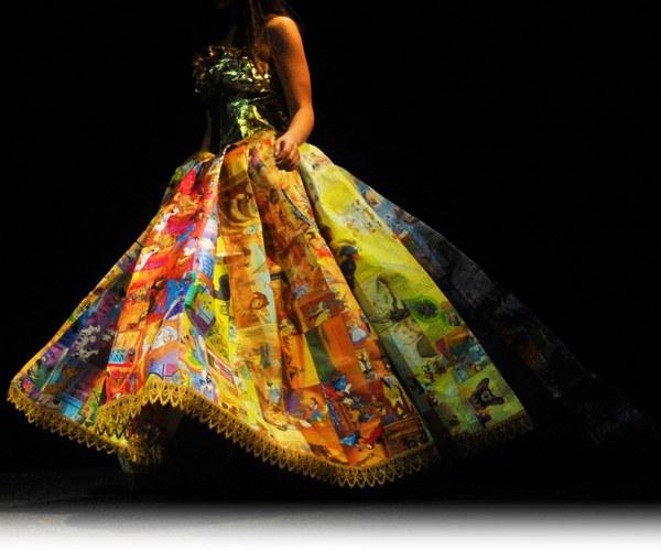 Golden Book Gown