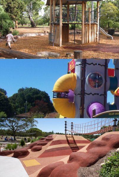 Playground Finder app