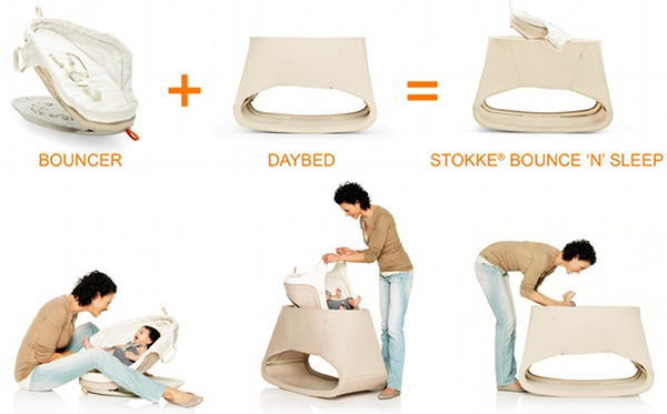 just spotted new stokke bounce 39 n 39 sleep daybed