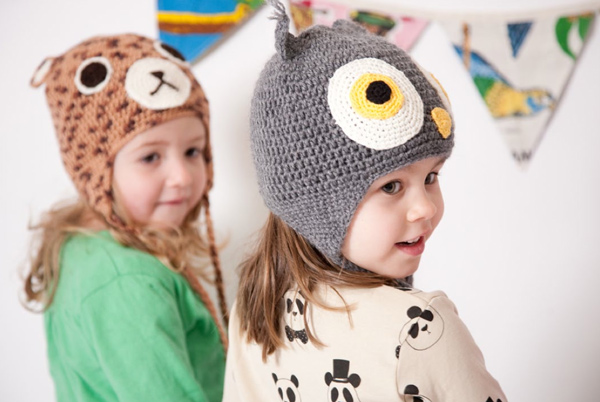 Keep little heads warm with hats from Acorn Kids