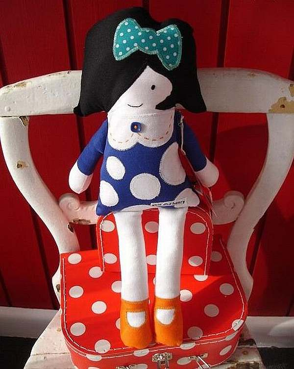 Handmade Evie Doll