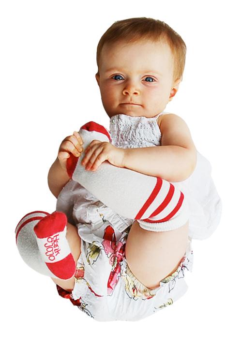 frank and jojo socks 2 Old school baby & kid socks from Hank and JoJo