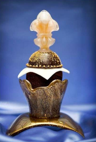 Decadence D'Or $750 cupcake from Palazzo Resort