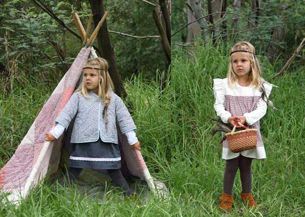 girls fashion, cotton