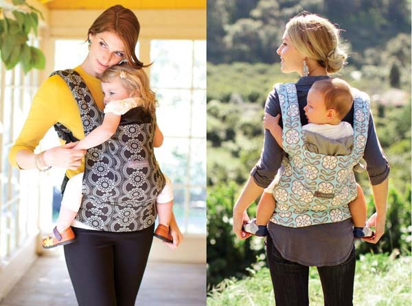 how to wear ergo baby carrier