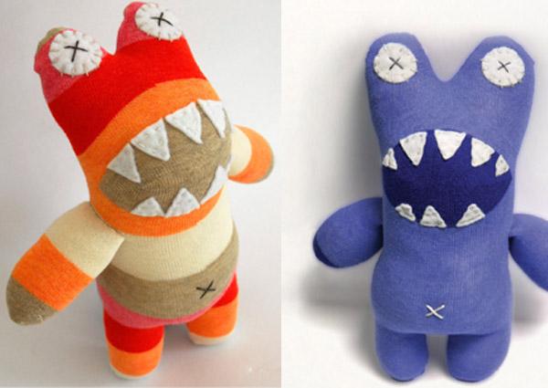 Craft Schmaft sock toys