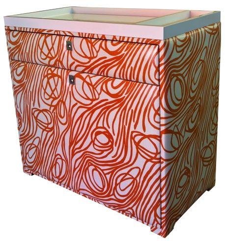 Spi change table Tangerine Rope pattern