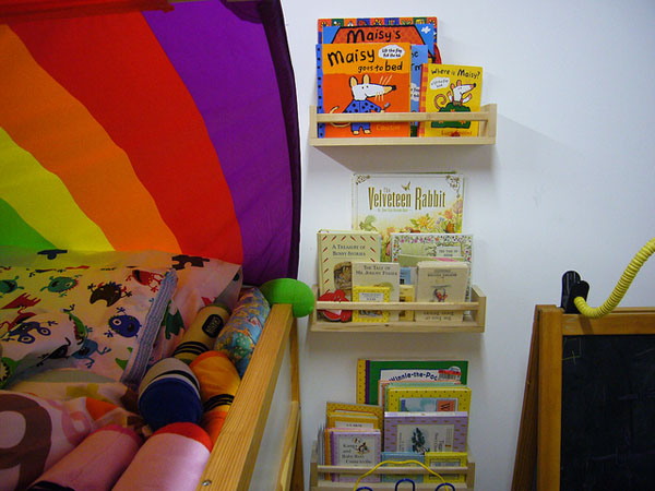 Ikea, bekvam spice rack, book shelf