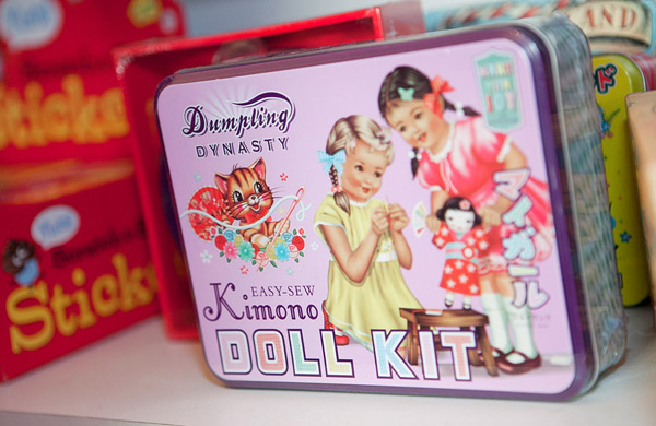 Dumpling Dynasty kimono sew your own doll kit
