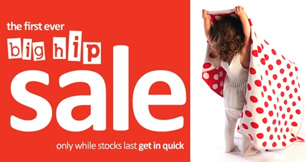 Hiphiphooray sale & extra discount for Babyologists!