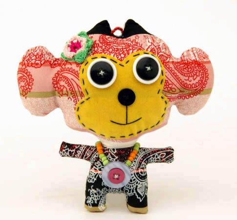 Fair trade softies monster dolls