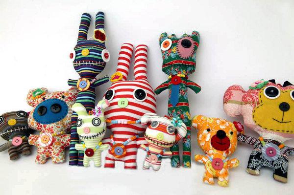 Fair trade Monster dolls from Thailand