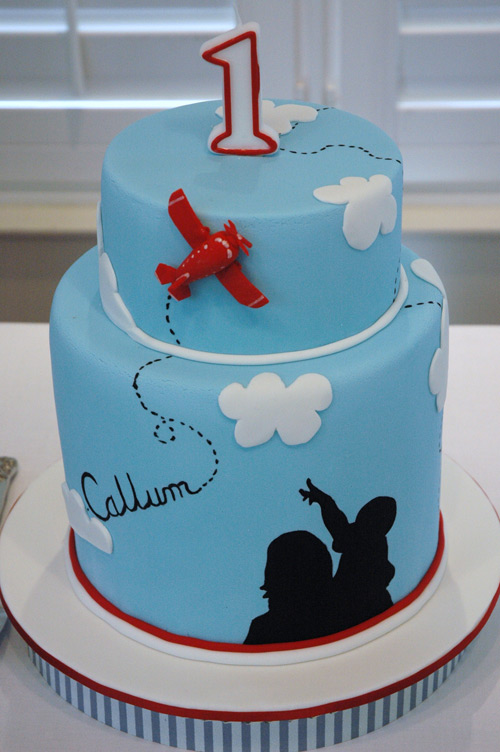 aeroplane airplane birthday cake