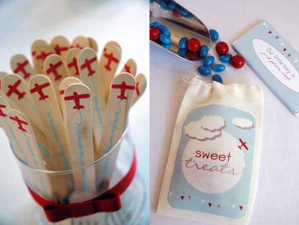 aeroplane airplane birthday party favours favors