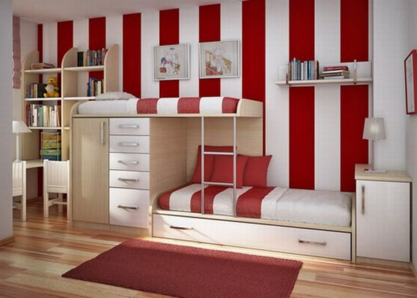 shared bedrooms  2
