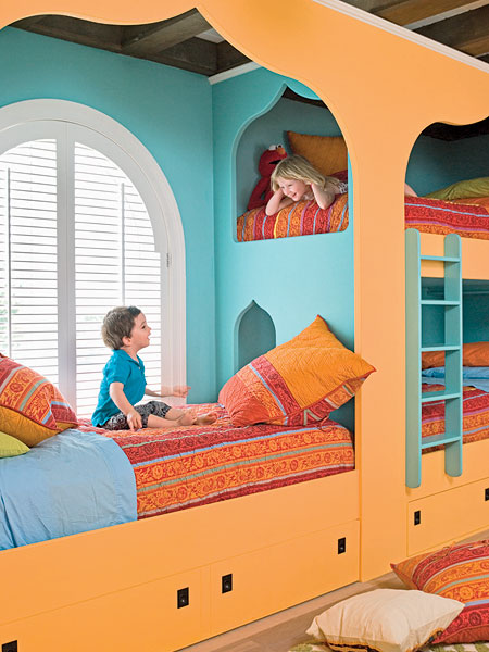 shared bedrooms for boys and girls