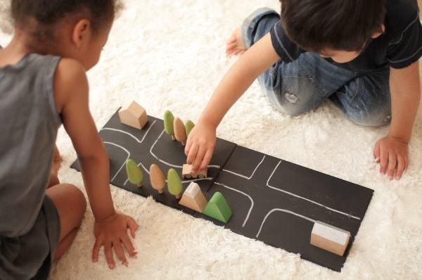 Chalkboard play city