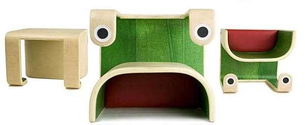 Klinko Kids 3 in 1 frog furniture