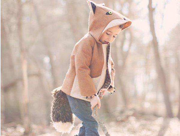 fantastic little fox animal coat
