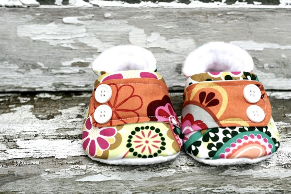 My babyband company My Evelyn shoes 600x400 Cute baby shoes and fashion forward booties