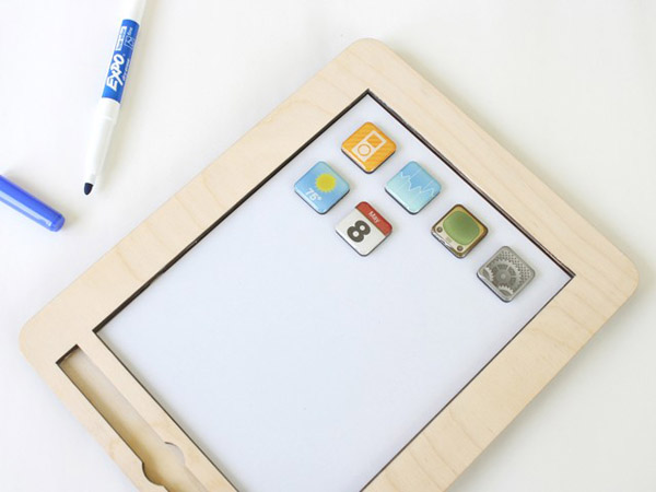 wooden toy, whiteboard, magnet