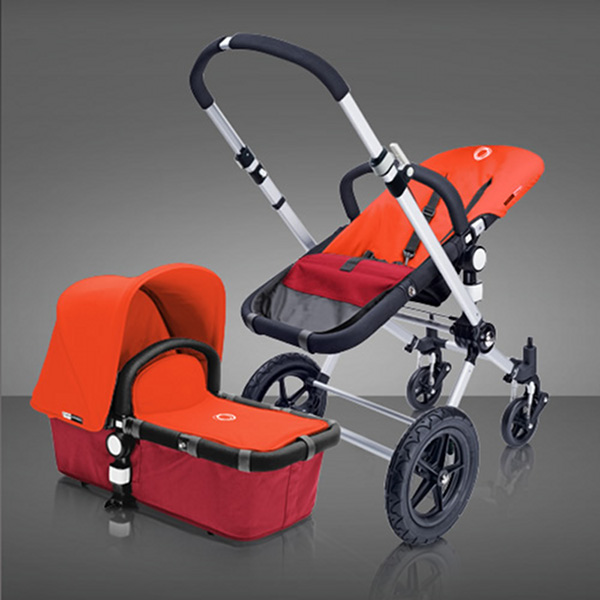 bugaboo stroller Red Base and Orange Top Bugaboo new releases and specials at Minimee!