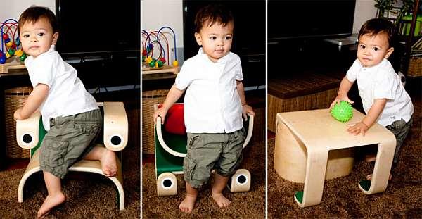 Klinko Kids 3 in 1 frog kids furniture