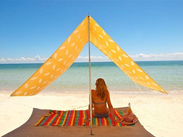 sun shade, beach, outdoors