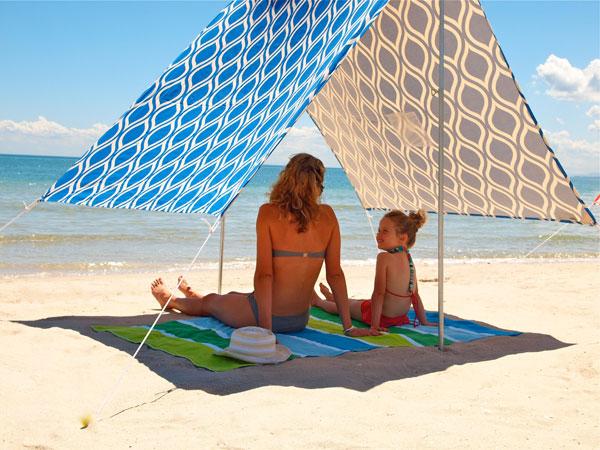 sunshade, beach, outdoors