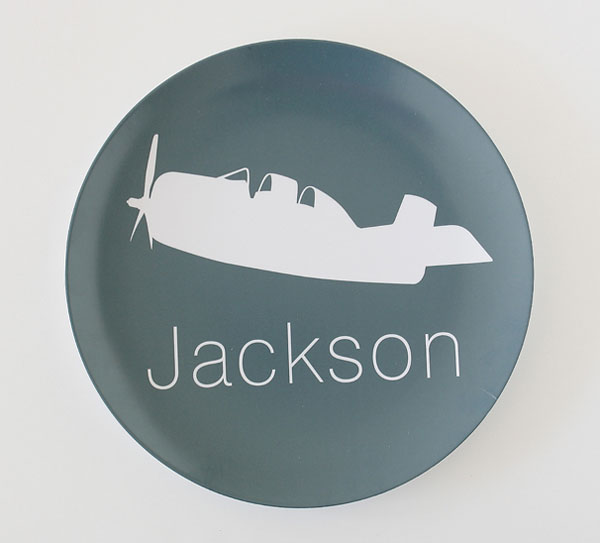 melamine personalised children\u0027s plate & Babyology Exclusive - Perfect personalised plates from Perideau Designs