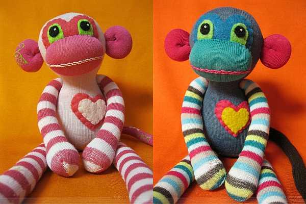 sock monkey zparkleys