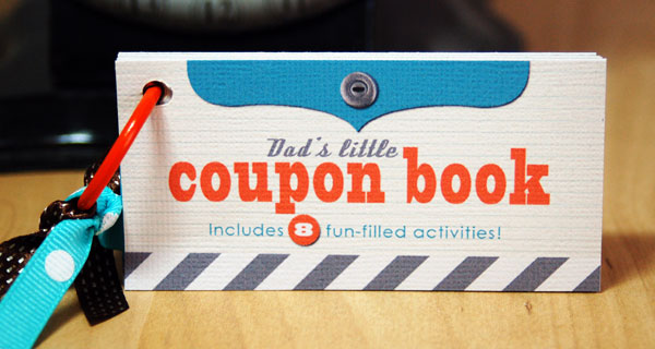 Coupon Book Do it yourself with love this Fathers Day
